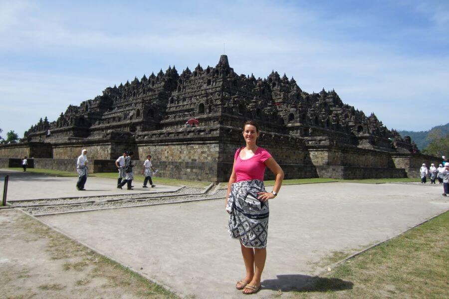 Indonesie Java Borobudur