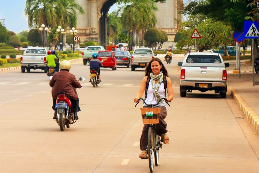 Laos Vientiane Fietstour highlights 2