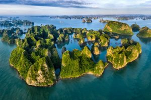 2-Daagse bouwsteen adembenemend Halong Bay