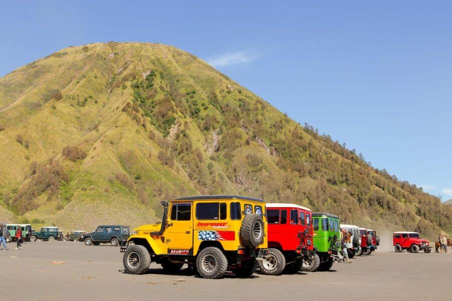 Indonesie Java Bromo Jeeps