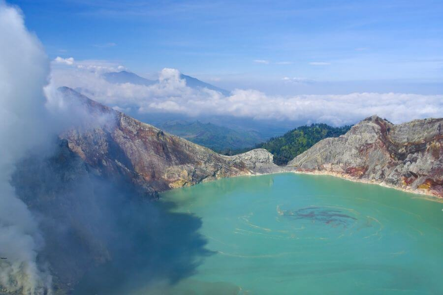 Indonesie Java Ijen vulkaan