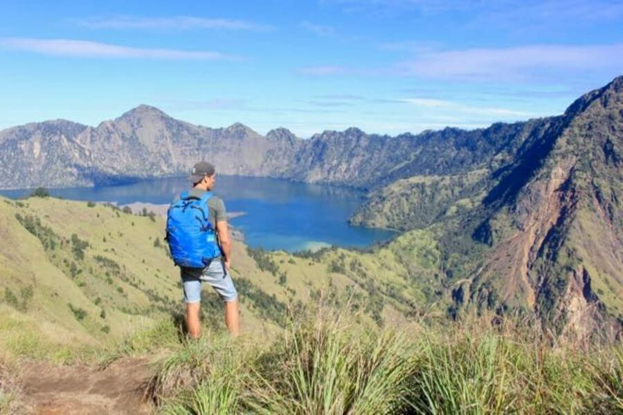 Indonesie Mt Rinjani trekking 8
